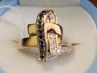 Кольцо ск. Золото 585 (14K) вес 6.00 г