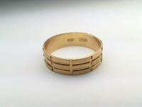Кольцо обручальное Золото 585 (14K) вес 2.07 гр.