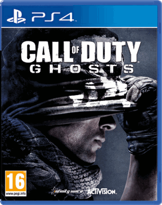 Диск PS4 Call of Duty Ghosts