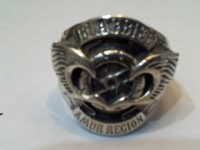 Перстень байкерский Серебро 925 вес 23.53 гр.