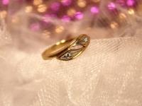 Кольцо 3Н60/2 Золото 585 (14K) вес 2.10 гр.
