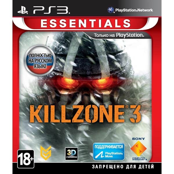 Диск PS3 Killzone 3