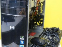 Системный блок HP Intel Core i3, ОЗУ 5Гб,Вид.Карта 5Гб, HDD 500Gb+кабель сетевой,мышь,клавиатура №24