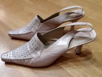 Туфли renzoni кожаные цвет беж