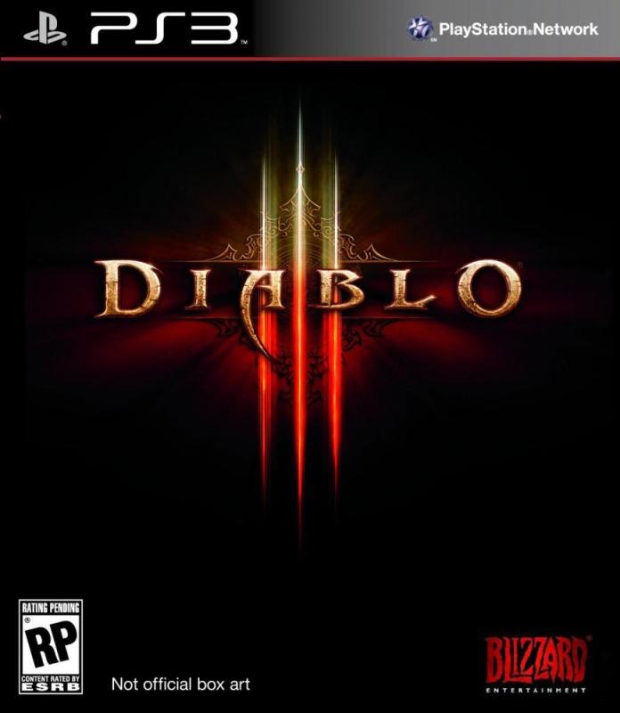 Диск PS3 Diablo III