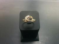 Кольцо Золото 585 с бр 3000 585 вес 2.59 г
