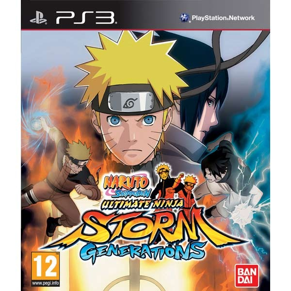 Диск PS3 Naruto Shippuden: Ultimate Ninja Storm Generations