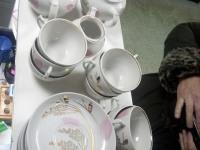 Дулевский фарфор чайный 12 персон