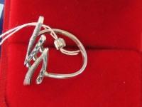 Кольцо. Серебро 925 вес 2.86 г