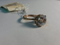 Кольцо Серебро 925 вес 5.69 г