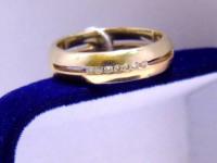 Кольцо 4Н 177 Золото 585 (14K) вес 4.59 г