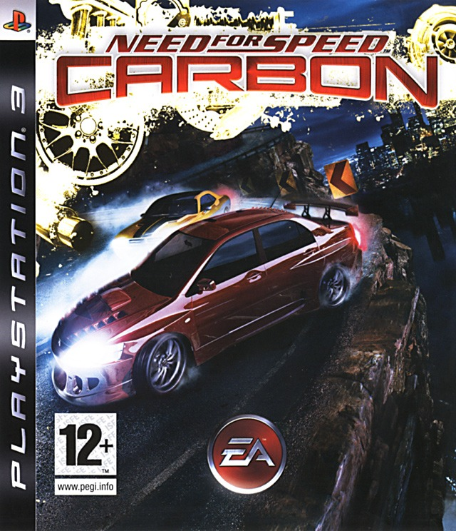 Диск PS 3 Need For Speed Carbon