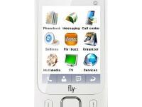 Телефон Fly E141 TV+ white