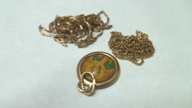 Ювелирные изделия 3 шт Золото 585 (14K) вес 5.77 гр.