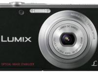 Цифровые фотокамера Panasonic  Lumix DMC-FS28