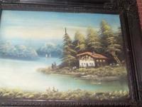 *Картина Дом с привидениями