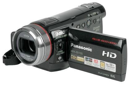 Видеокамера Panasonic HDC-SD100