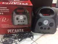 Зарядное пусковое устройство РЕСАНТА, в коробке с авто.переходником и сетевым кабелем,№152