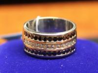 Кольцо бр. 13 шт. кр-57 0,32ct Золото 585 (14K) вес 9.20 г