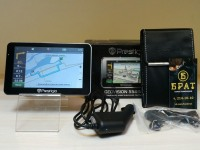 GPS навигатор Prestigio Geovision 5566HD в коробке Ф-4