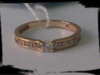 Кольцо Золото 585 (14K) вес 1.93 гр.