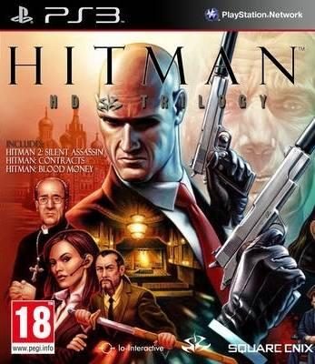 Диск PS3 Hitman HD Trilogy