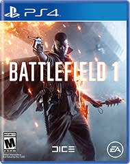 Диск PS4 Battlefield 1