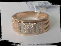 Кольцо Золото 585 (14K) вес 8.95 гр.