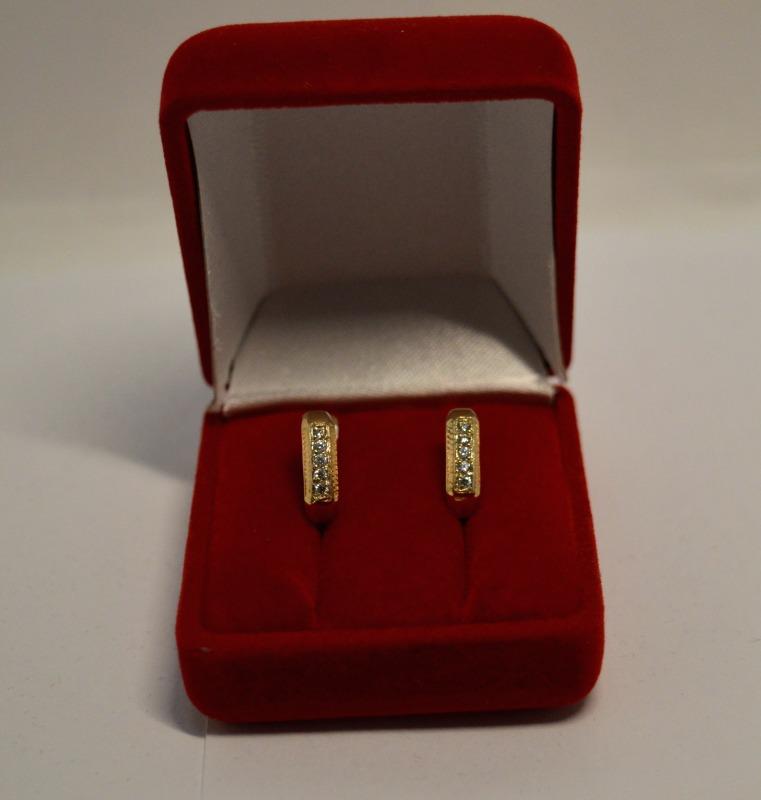 Серьги Золото 585 (14K) вес 2.71 гр.