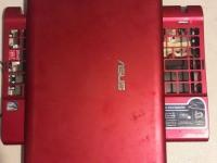 Asus Eee PC 1225C корпус ноутбука (красный)