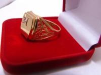 Кольцо Золото 585 (14K) вес 5.72 гр.
