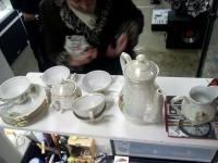 Севиз Чайный Югославия на 6 персон(чашек 5)