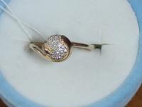 Кольцо. Золото 585 (14K) вес 1.98 г
