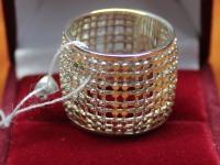 Кольцо. Серебро 925 вес 9.68 г