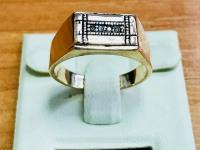 Кольцо  Золото 585 (14K) вес 5.88 г