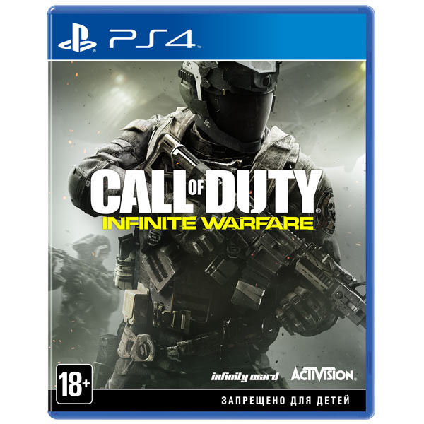Диск PS4 Call of Duty Infinite Warfare