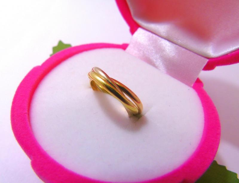 Кольцо с 54 Золото 585 (14K) вес 2.68 гр.