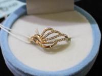 Кольцо ск. Золото 585 (14K) вес 1.77 г