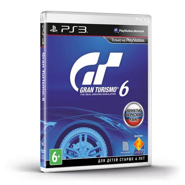 Диск PS3 Gran Turismo 6