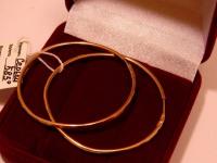 Серьги 1Н 5821 Золото 585 (14K) вес 2.72 гр.