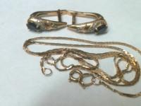 Ювелирные изделия 3 шт Золото 585 (14K) вес 5.38 гр.