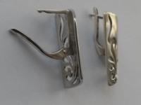 Серьги Серебро 925 вес 5.91 г
