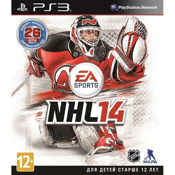 Диск PS3 NHL 14