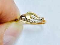 Кольцо Золото 585 (14K) вес 1.27 г