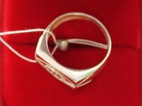 Кольцо ск. Серебро 925 вес 5.80 г