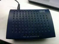ADSL Роутер ZTE ZXDSL 831A
