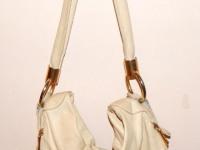 """Женская сумка """"Mattioli"""" (Италия, белая кожа)"""