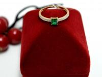 Кольцо с камнями Золото 585 (14K) вес 1.51 г