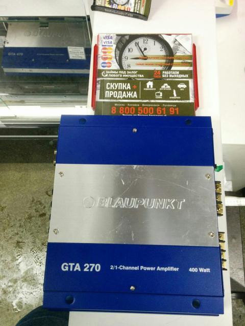 Blaupunkt gta270 400watt