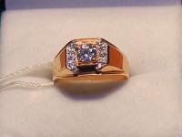 Кольцо Золото 585 (14K) вес 5.01 г